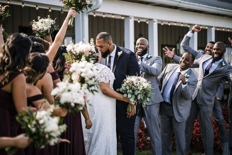 Light Gray Groomsmen Suits