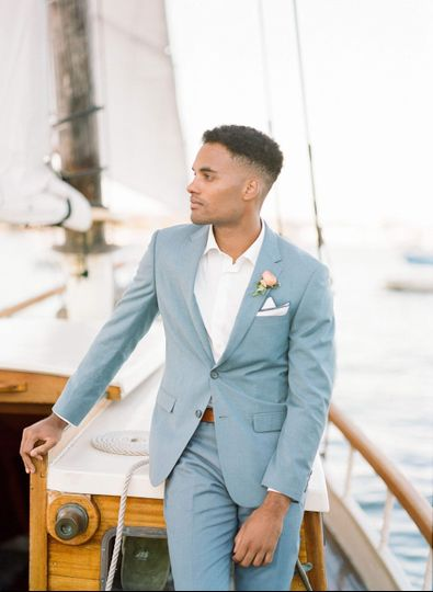 Light Blue Summer Wedding