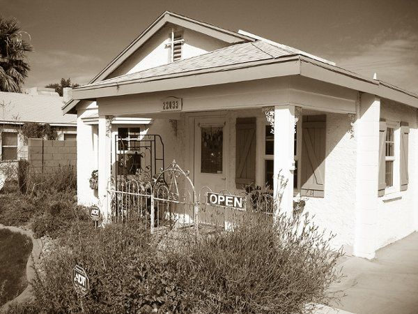 This is The Cottage at Queen Creek.  It was built in 1941.  We bought it in 2005 and remolded and...