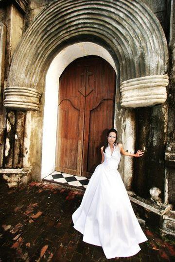 bridalphotogown