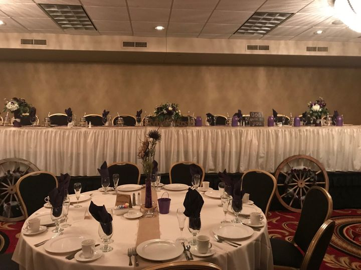 Head Table-Lower Ballroom