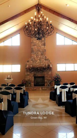 Ballroom lobby ceremony
