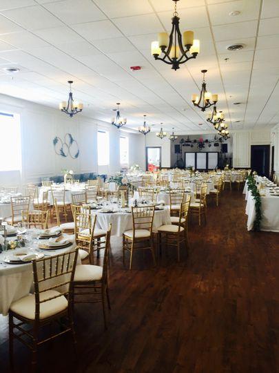 Wedding reception - after