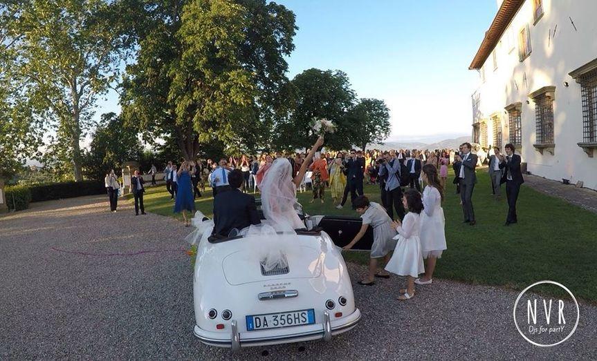 Bride &Groom arrival