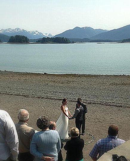 Auk Rec Wedding ceremony
