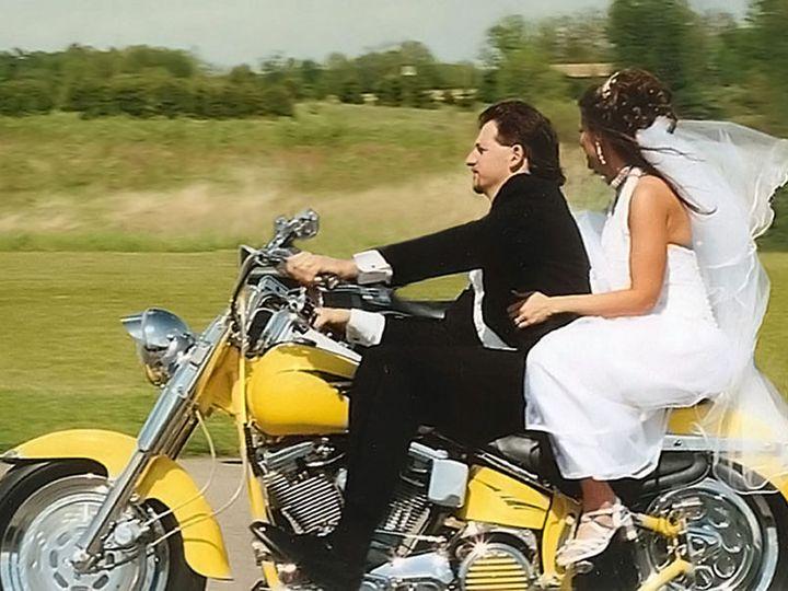 Tmx 1530222571 55ff45c2a1dbbdaa 1530222570 7554a4c188a3c99d 1530222570118 14 BIKER WED OF JESS Denver wedding dress