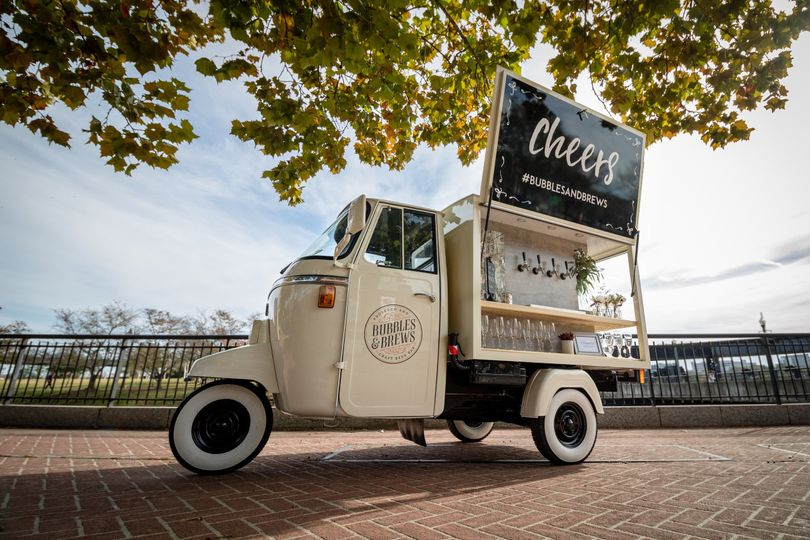 Get Cozy, Vintage Mobile Bars