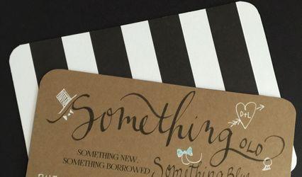 Calligraphy by Jennifer Borkowski Designs