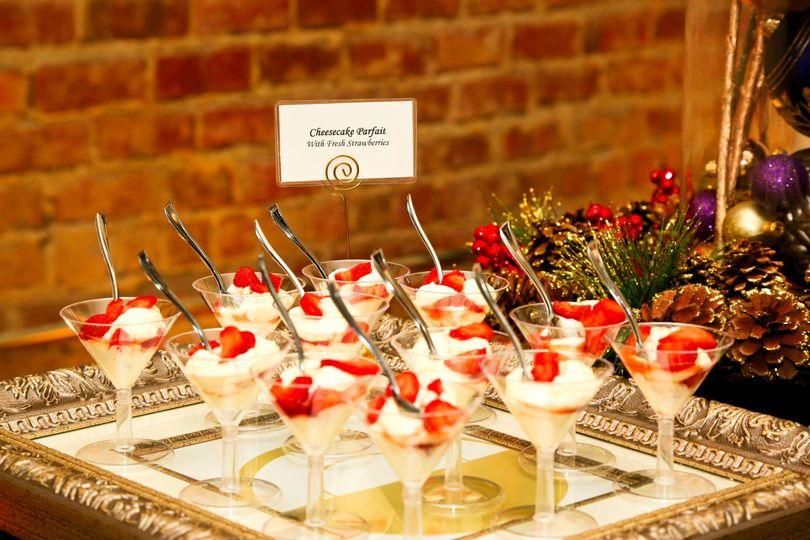 Cheesecake Martinis