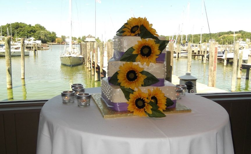 Cakewithsunflowers