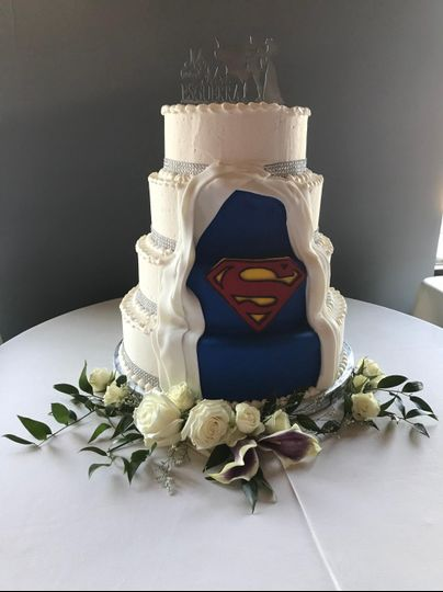 Even Superheros like cake :)