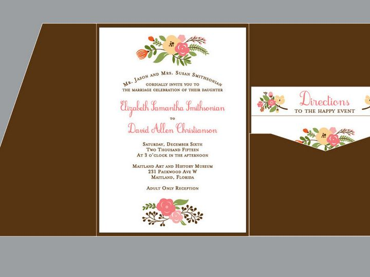 Tmx 1430668728700 Screen Shot 2015 05 03 At 11.59.51 Am Plant City wedding invitation