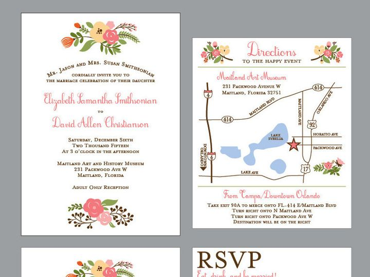 Tmx 1430668746409 Screen Shot 2015 05 03 At 12.00.08 Pm Plant City wedding invitation