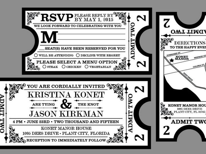 Tmx 1430668752786 Screen Shot 2015 05 03 At 12.00.48 Pm Plant City wedding invitation