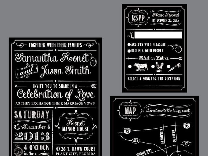 Tmx 1430668759460 Screen Shot 2015 05 03 At 12.01.02 Pm Plant City wedding invitation