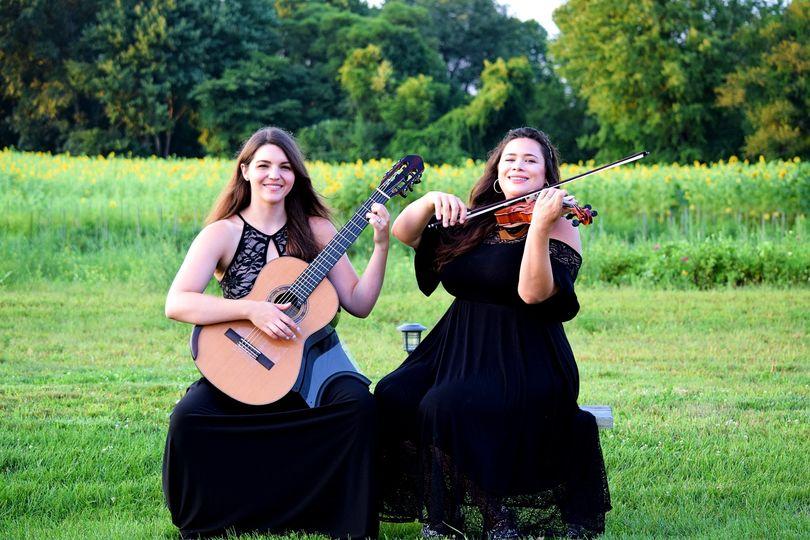 Violin and guitar duet