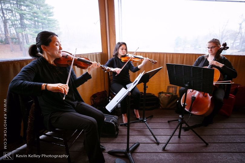 String trio at The Pavilion