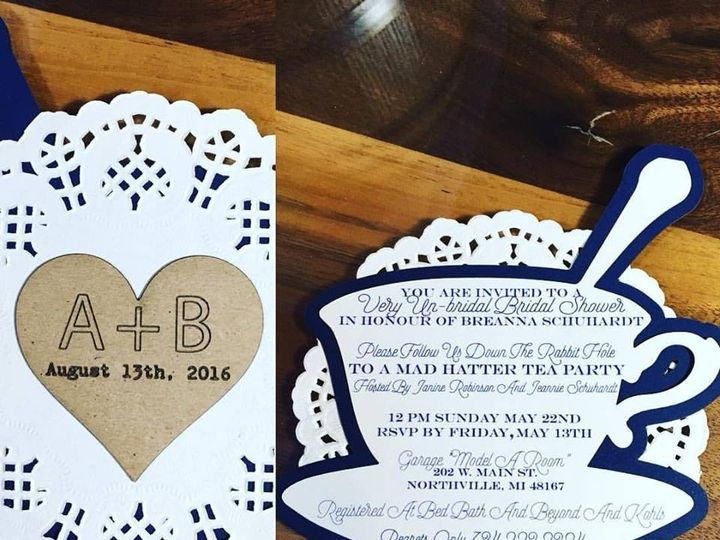Tmx 1461700961359 Wedding2 Royal Oak wedding invitation