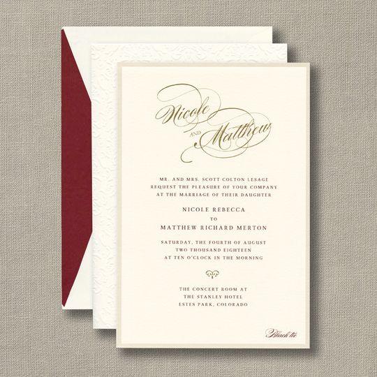 CW Designs - Invitations - McKinney, TX - WeddingWire