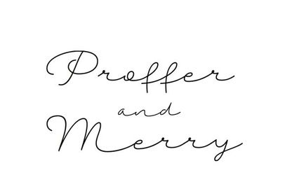 Proffer and Merry