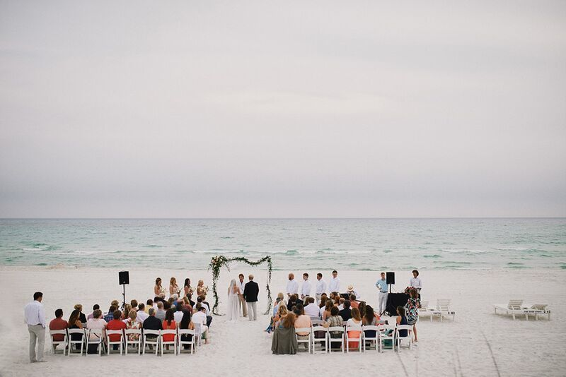 Beach wedding | Photo by Paul Johnson
