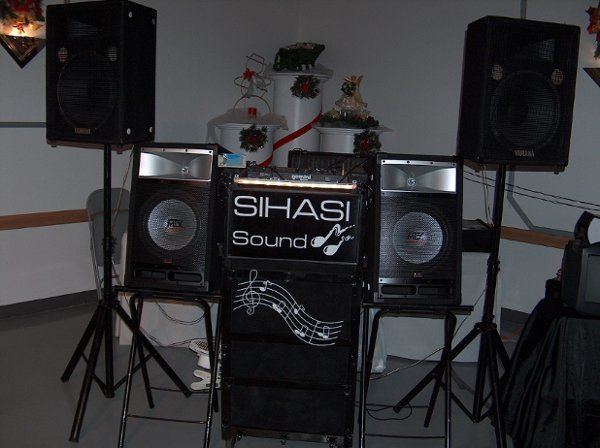 The appearance of one of our professional disc jockey sets.