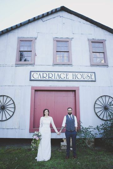 An eclectic wedding venue