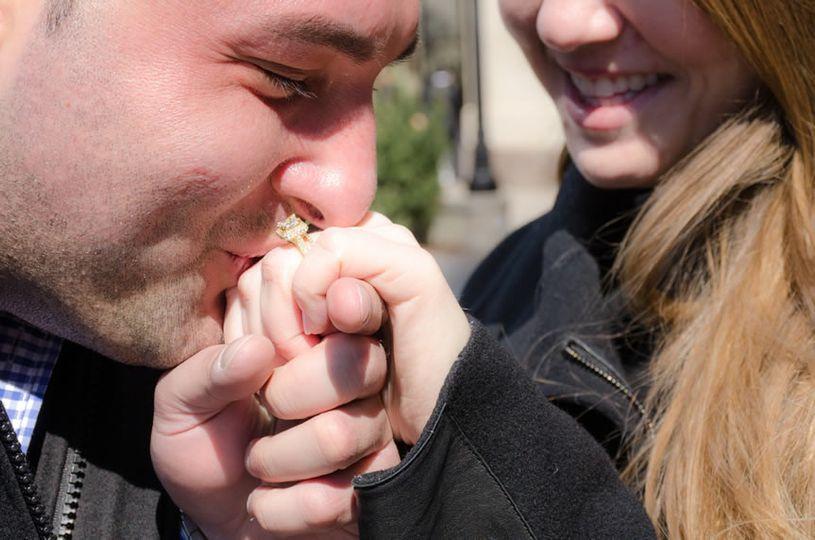 mitzvah studio photos surprise engagement