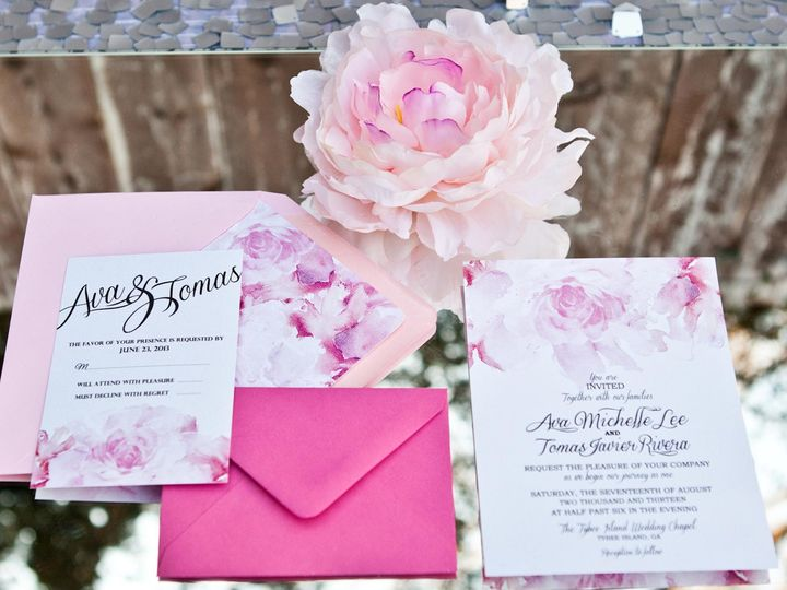 Tmx 1489984950639 Blush And Bashful Bronx wedding invitation