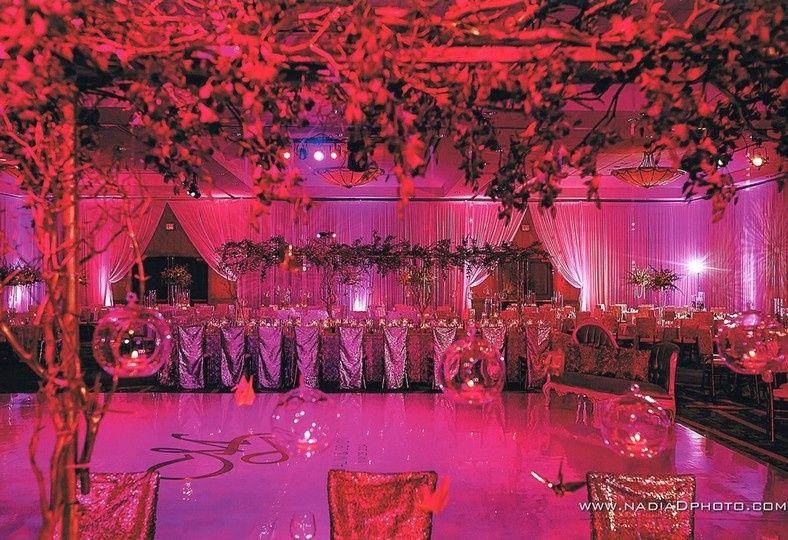 Elegant South Asian reception