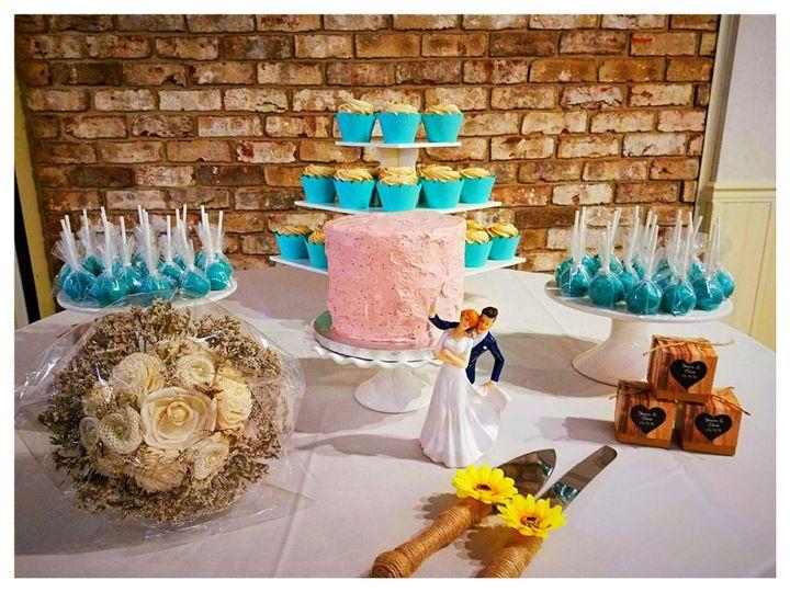 Tmx 1526762804 9d0f7de9d32ad6cb 1526762802 Bda138f764aa63dd 1526762800081 2 Photo 2018 05 19 0 Newville, PA wedding cake