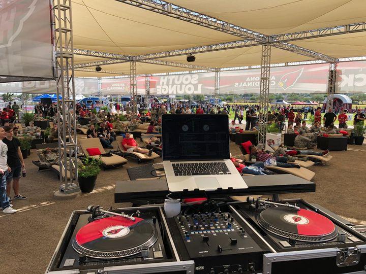 AZ Cardinals Flight Deck DJ