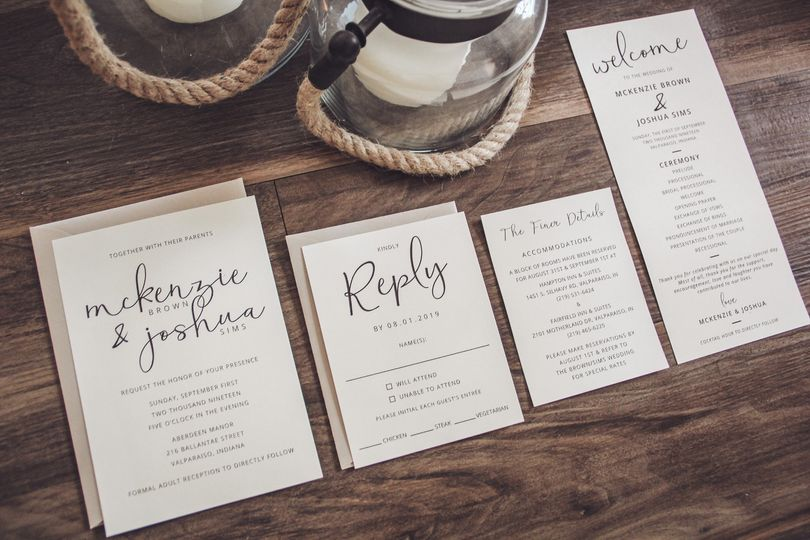 Simple Script Wedding Suite