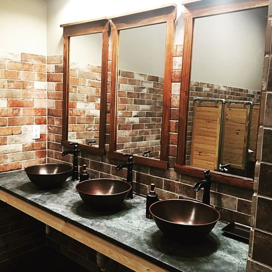 Classy sink area