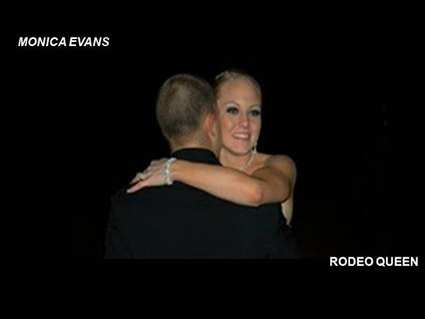Monica Evans Rodeo Queen gets married,makeup by Carrie Von Loudon