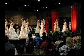 Bridal Fair, makeup by Carrie Von Loudon