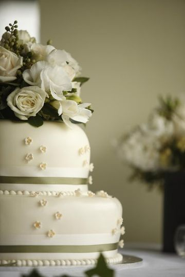 Custom made wedding cakes created by our Executive Pastry Chef.