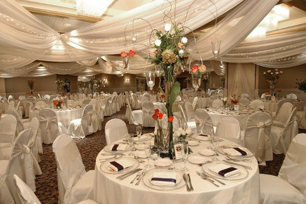The Ballroom can be transformed into your own wedding wonderland.