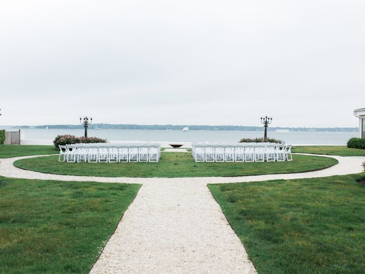 Tmx 1481729382175 Belle Mer Island House Ceremony Circle By Kim Lyn  Newport, RI wedding venue