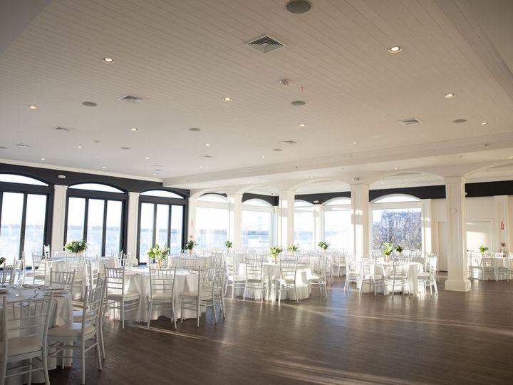 Tmx Belle Mer Island House Reception Set Up Wide Shot Molly Anne 51 43700 158464436368059 Newport, RI wedding venue