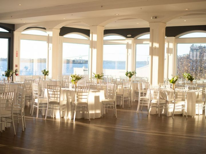 Tmx Belle Mer Island House Reception Set With White Linens Molly Anne 51 43700 158464436398033 Newport, RI wedding venue