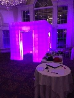 Violet lights