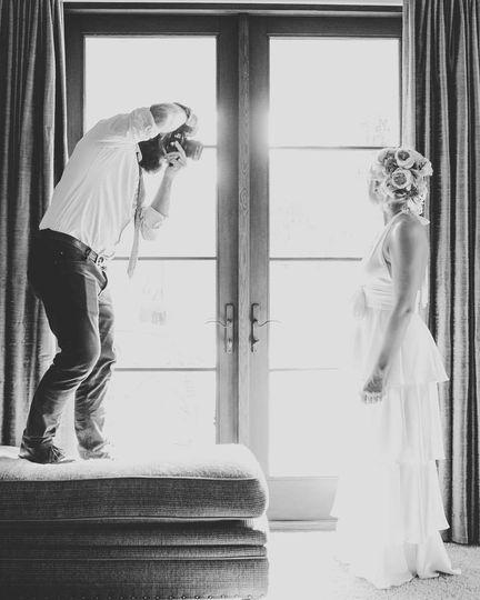 Travis + the bride