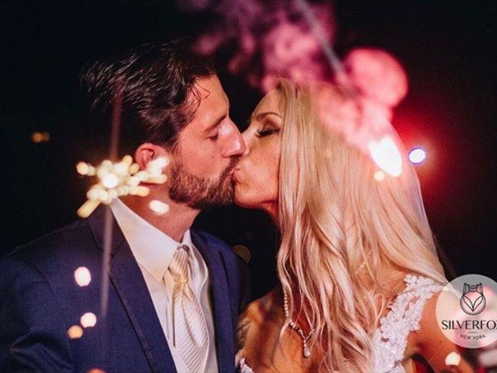 Tmx Sparklers Wedding Day Kiss At Our Long Island Waterfront Wedding Venue 51 64700 Ronkonkoma, NY wedding venue