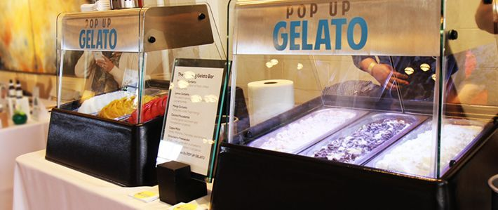 Pop Up Gelato station