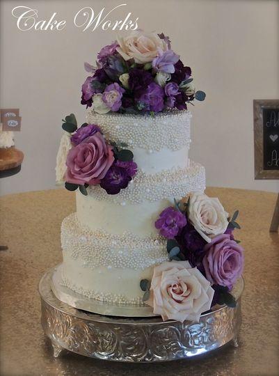 regina daniel pearl wedding cake