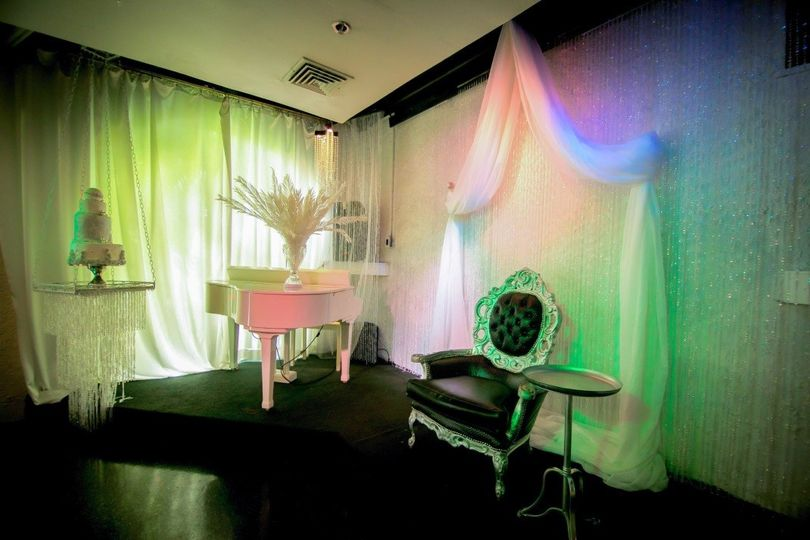 Indoor stage