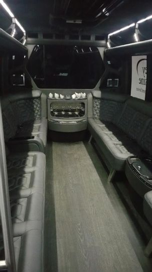 lux coach interior