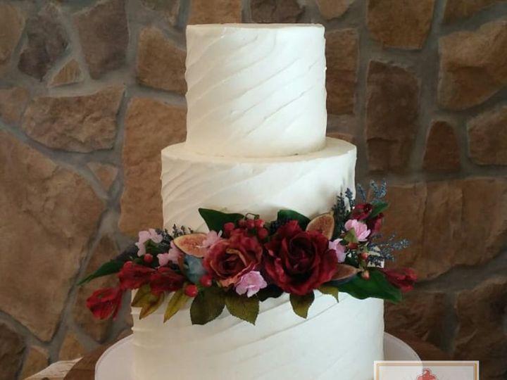 Tmx 1522436817 B76cefcd3923bdf7 1522436816 C3cbfb2df3423678 1522436812397 4 EzyWatermark180310 Hillsborough wedding cake