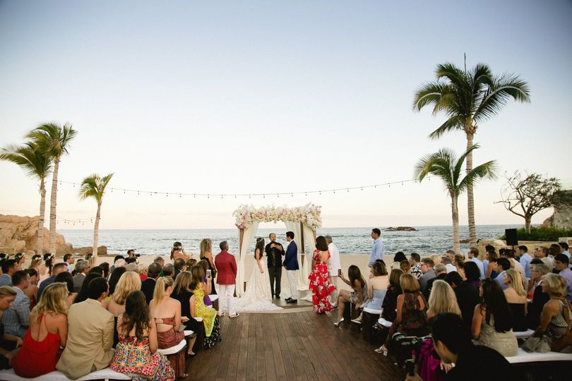 Wedding at the Pool Deck